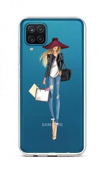 Zadní silikonový kryt na Samsung A12 Lady 2