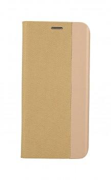 Knížkové pouzdro Sensitive Book na Xiaomi Redmi Note 10 Pro zlaté