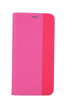Knížkové pouzdro Sensitive Book na Xiaomi Redmi Note 10 růžové