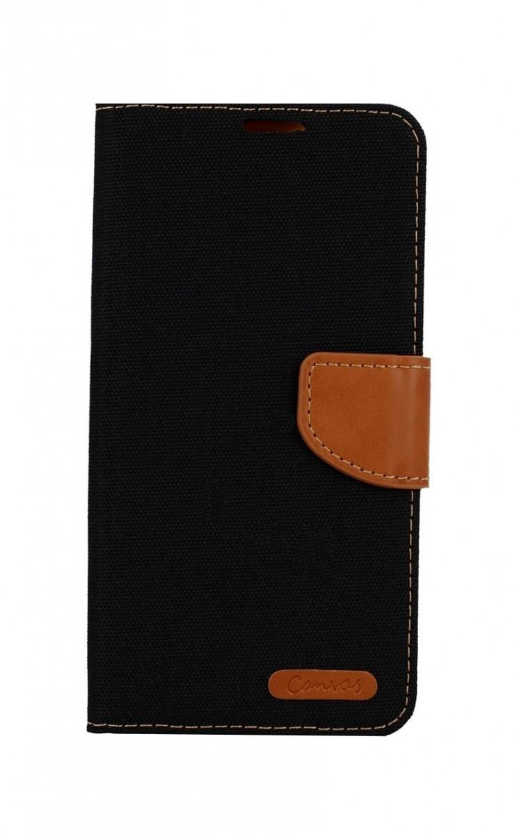 Knížkové pouzdro Canvas na Xiaomi Redmi Note 10 černé