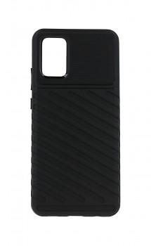 Zadní silikonový kryt Thunder na Samsung A02s černý