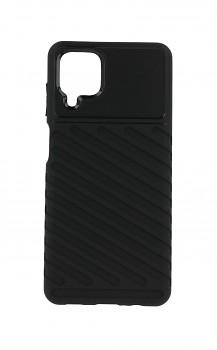 Zadní silikonový kryt Thunder na Samsung A12 černý