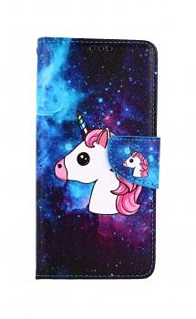 Knížkové pouzdro na Xiaomi Redmi 9T Space Unicorn