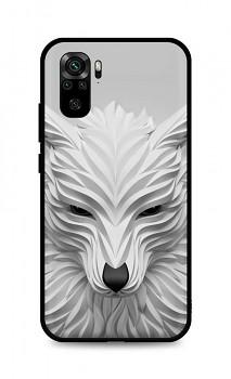 Zadní pevný kryt LUXURY na Xiaomi Redmi Note 10 Bílý vlk