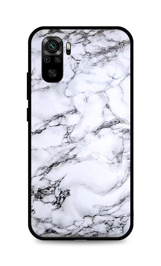 Zadní pevný kryt LUXURY na Xiaomi Redmi Note 10 Marble White