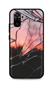 Zadní pevný kryt LUXURY na Xiaomi Redmi Note 10 Pink Broken