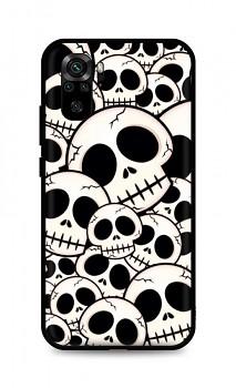 Zadní pevný kryt LUXURY na Xiaomi Redmi Note 10 Skulls
