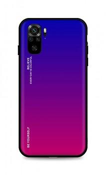 Zadní pevný kryt LUXURY na Xiaomi Redmi Note 10 duhový fialový