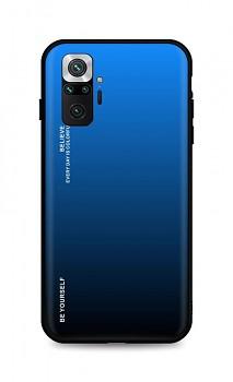 Zadní pevný kryt LUXURY na Xiaomi Redmi Note 10 Pro duhový modrý