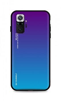 Zadní pevný kryt LUXURY na Xiaomi Redmi Note 10 Pro duhový purpurový