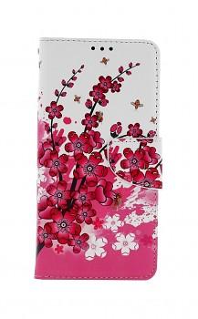 Knížkové pouzdro na Xiaomi Redmi Note 10 Pro Kytičky textil