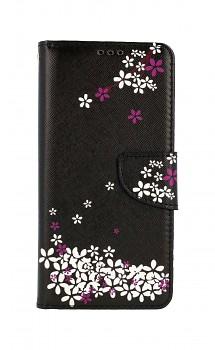 Knížkové pouzdro na Xiaomi Redmi Note 10 Pro Květy sakury