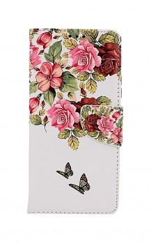 Knížkové pouzdro na Xiaomi Redmi Note 10 Pro Něžné květy