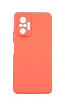 Zadní silikonový kryt Forcell Lite na Xiaomi Redmi Note 10 Pro růžový