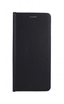 Knížkové pouzdro Luna Book na Samsung A32 černo-stříbrné