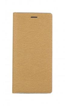Knížkové pouzdro Luna Book na Samsung A32 5G zlato-stříbrné