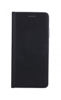 Knížkové pouzdro Luna Book na Xiaomi Redmi Note 10 černo-stříbrné