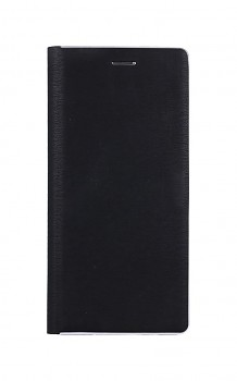 Knížkové pouzdro Luna Book na Xiaomi Redmi Note 10 Pro černo-stříbrné