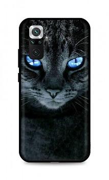 Zadní silikonový kryt DARK na Xiaomi Redmi Note 10 Pro Dark Cat
