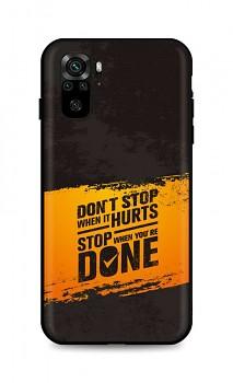 Zadní silikonový kryt DARK na Xiaomi Redmi Note 10 Don't Stop