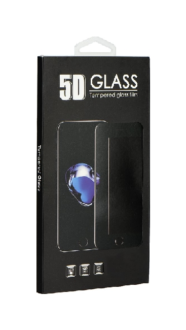 Tvrzené sklo BlackGlass iPhone 12 5D černé 58169 (ochranné sklo Apple iPhone 12)