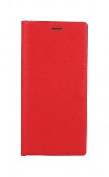 Knížkové pouzdro Luna Book na Samsung A32 5G červeno-stříbrné