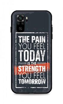 Zadní silikonový kryt DARK na Xiaomi Redmi Note 10 Strength