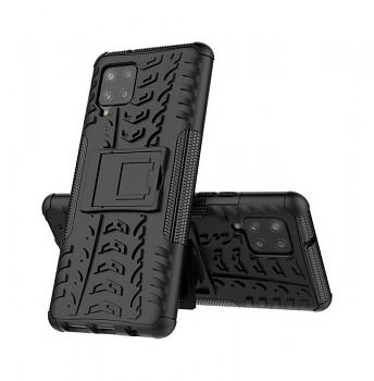 Ultra odolný zadní kryt na Samsung A42 černý