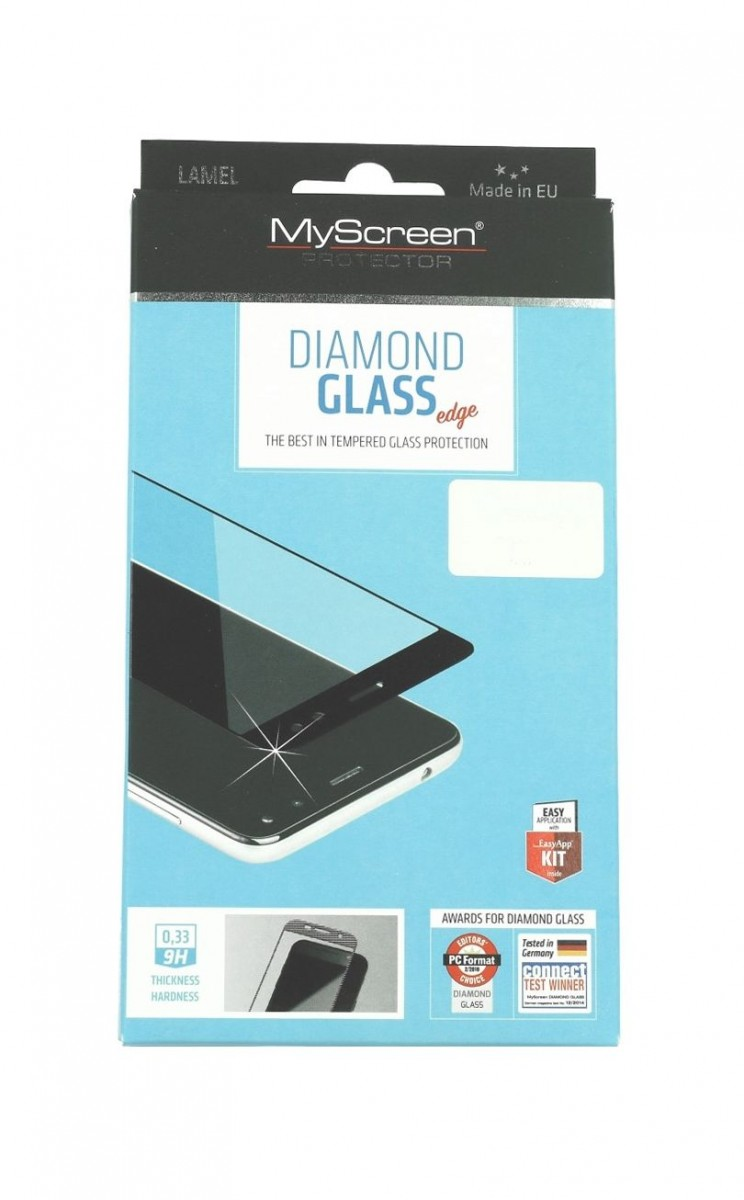Tvrzené sklo MyScreen Samsung S21 DIAMOND FullGlue černé 58236 (ochranné sklo Samsung S21)