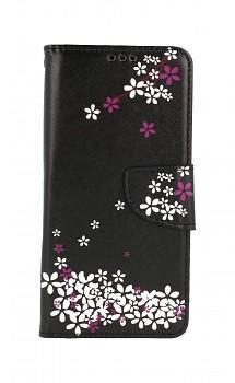 Knížkové pouzdro na Xiaomi Redmi Note 10 Květy sakury