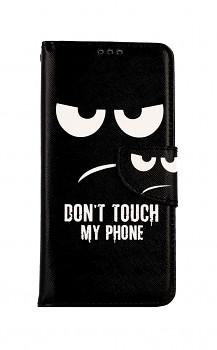 Knížkové pouzdro na Xiaomi Redmi Note 10 Don´t Touch
