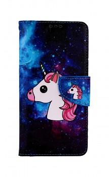 Knížkové pouzdro na Xiaomi Redmi Note 10 Space Unicorn