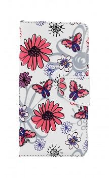 Knížkové pouzdro na Xiaomi Redmi Note 10 Flowers
