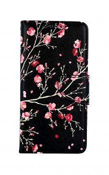Knížkové pouzdro na Xiaomi Redmi Note 10 Noční květy