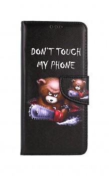 Knížkové pouzdro na Xiaomi Poco X3 Don´t Touch méďa