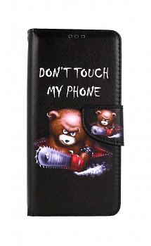 Knížkové pouzdro na Xiaomi Poco M3 Don´t Touch méďa