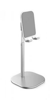 Stojánek na mobil stříbrný
