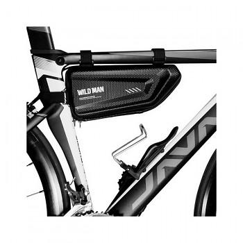 Vodotěsné pouzdro WildMan E4 na rám kola černé 1,5L