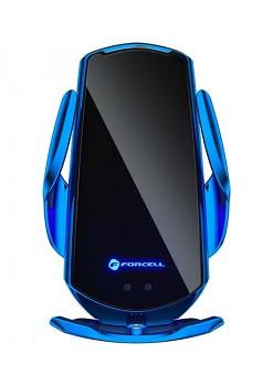 Držák na mobil s funkcí bezdrátového nabíjení Forcell HS1 modrý