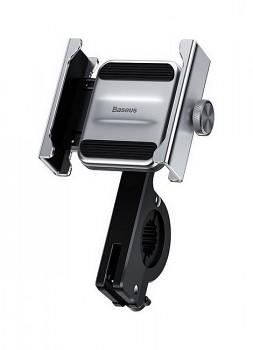 Držák na mobil na motocykl - skútr - kolo Baseus Knight (CRJBZ-0S) stříbrný