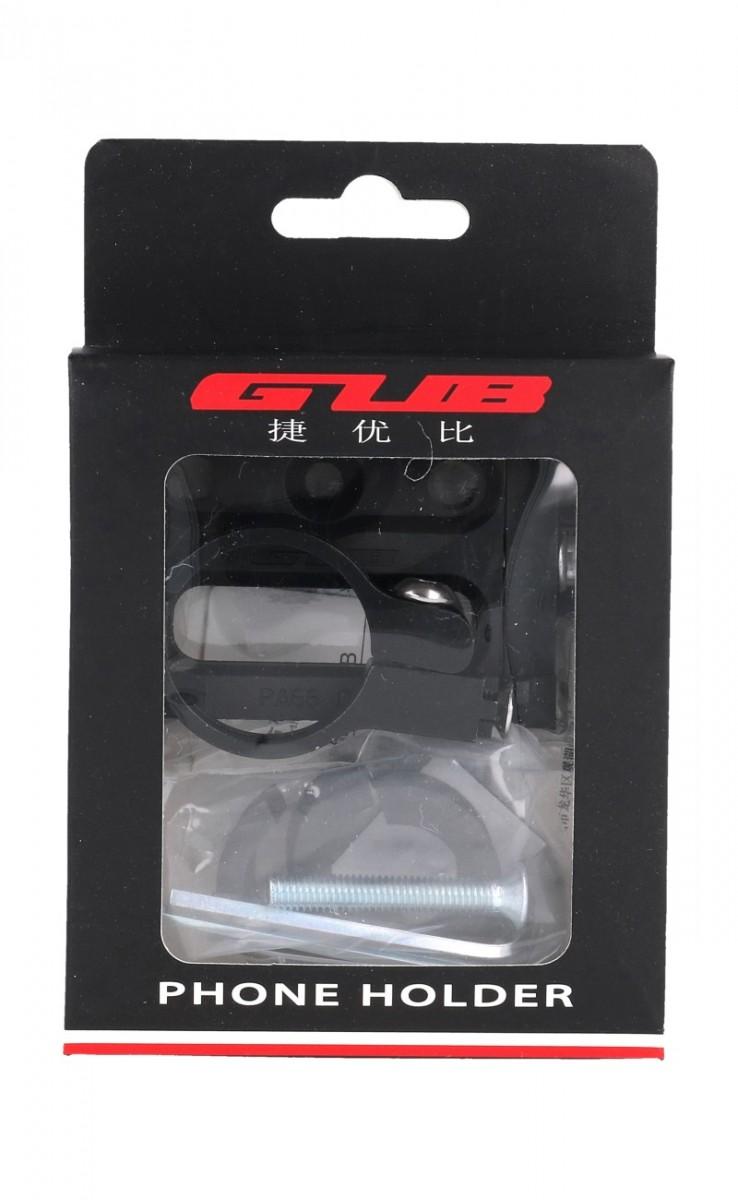 Držák na mobil na kolo GUB G-83 černý