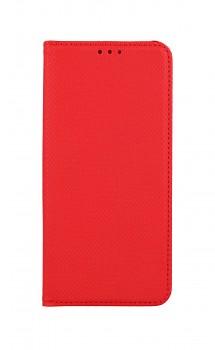 Knížkové pouzdro Smart Magnet na Xiaomi Redmi Note 10 červené