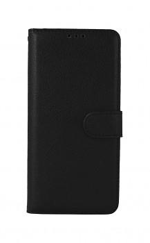 Knížkové pouzdro na Xiaomi Redmi Note 10 Pro černé s přezkou