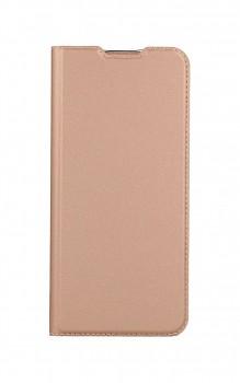 Knížkové pouzdro Dux Ducis na Samsung A02s růžové