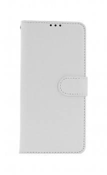 Knížkové pouzdro na Xiaomi Redmi Note 10 bílé s přezkou