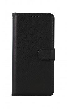 Knížkové pouzdro na Xiaomi Redmi Note 10 černé s přezkou