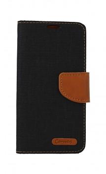 Knížkové pouzdro Canvas na Samsung A40 černé