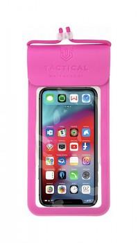 Univerzální vodotěsné pouzdro na mobil Tactical Splash Pouch S-M růžové