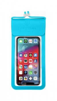 Univerzální vodotěsné pouzdro na mobil Tactical Splash Pouch L-XL modré
