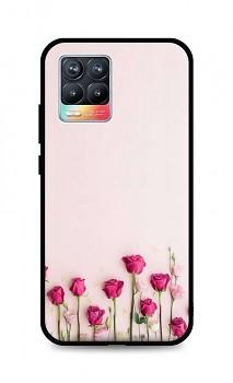 Zadní silikonový kryt DARK na Realme 8 Roses